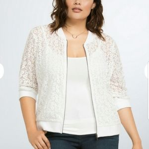 Torrid lace lightweight jacket